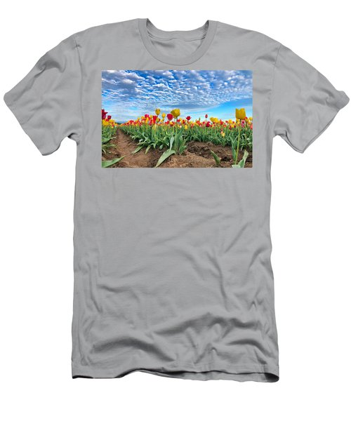Touch The Sky Men's T-Shirt (Athletic Fit)