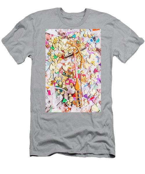 Tour De Hearts Men's T-Shirt (Athletic Fit)