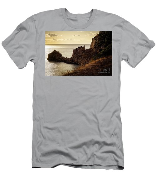 Tranquil Mediterranean Sunset    Men's T-Shirt (Athletic Fit)