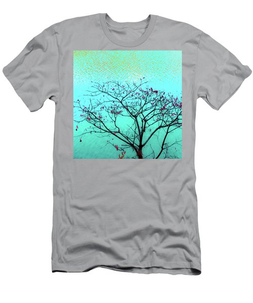 Tree And Water 1 Men's T-Shirt (Athletic Fit)