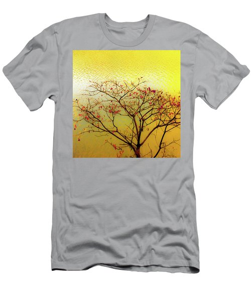 Tree And Water 2 Men's T-Shirt (Athletic Fit)