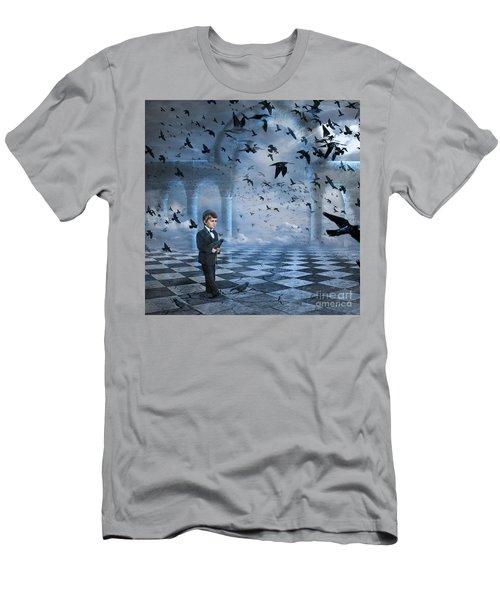 Tristan's Birds Men's T-Shirt (Athletic Fit)