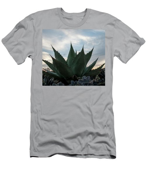 Tropical Plant I Men's T-Shirt (Athletic Fit)