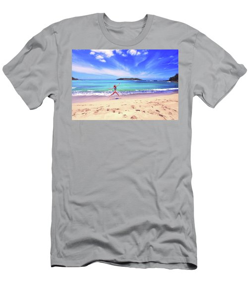 Tropical Spring Men's T-Shirt (Athletic Fit)
