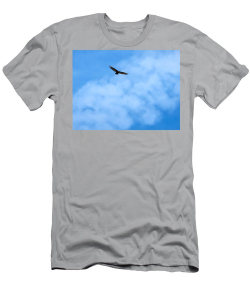 Turkey Vulture In Flight Men's T-Shirt (Athletic Fit)