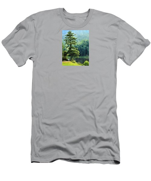 Two Guys And A Pond Men's T-Shirt (Athletic Fit)