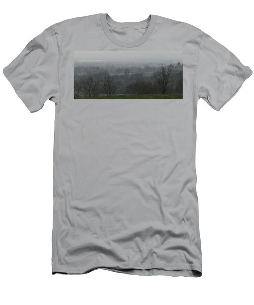 Valley Dawn  Men's T-Shirt (Athletic Fit)