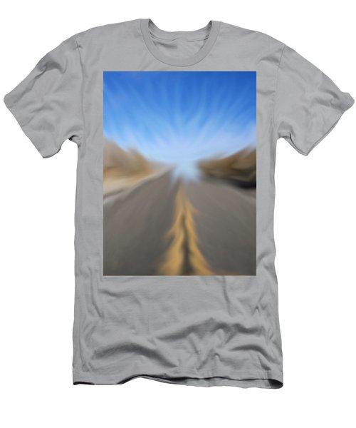 Vanishing Poiint Men's T-Shirt (Athletic Fit)