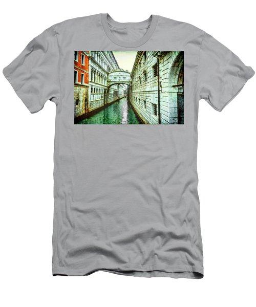 Venice Bridge Of Sighs Men's T-Shirt (Athletic Fit)