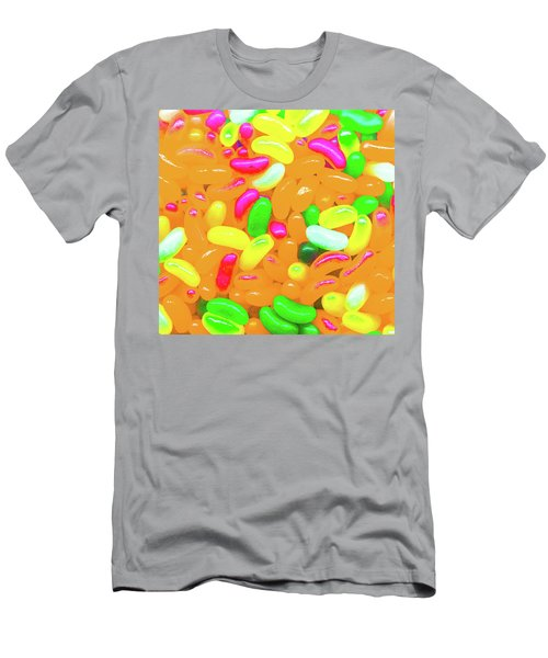 Vibrant Jelly Beans Men's T-Shirt (Athletic Fit)