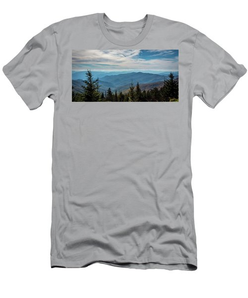 View From Clingman's Dome Men's T-Shirt (Athletic Fit)