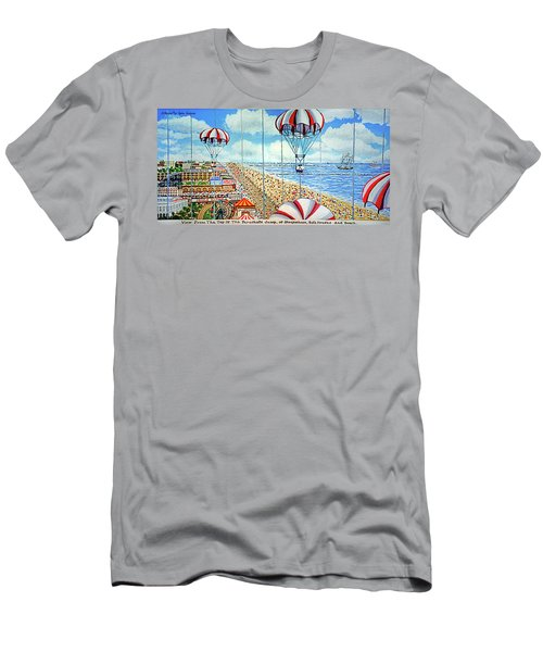 View From Parachute Jump Towel Version Men's T-Shirt (Athletic Fit)