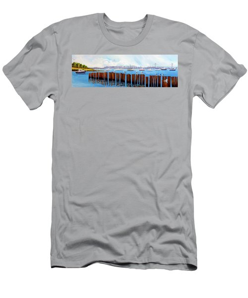 View From The Moshier's Tiki Bar Men's T-Shirt (Athletic Fit)