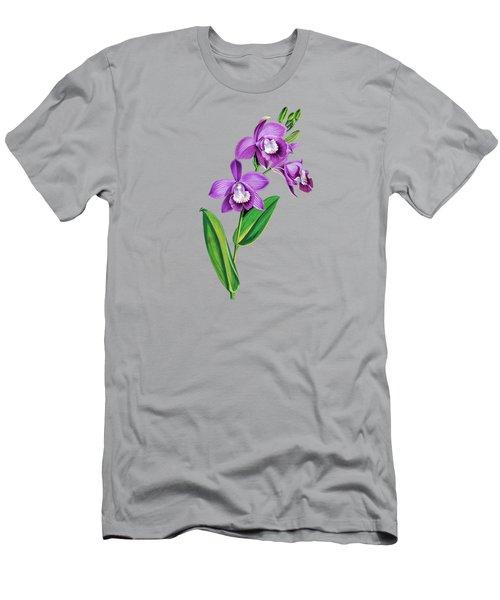 Vintage Purple  Orchidx Men's T-Shirt (Athletic Fit)