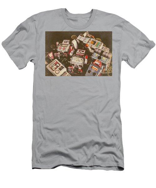 Vintage Robotronics Men's T-Shirt (Athletic Fit)