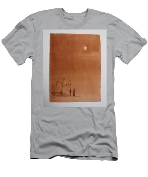 Waiting For Godot Men's T-Shirt (Athletic Fit)