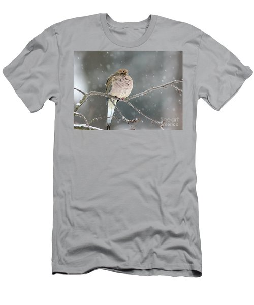 Waiting Out The Storm Men's T-Shirt (Athletic Fit)