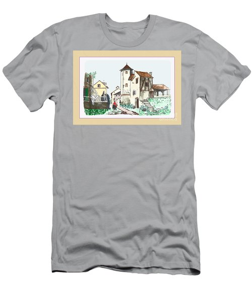 Walk Through Town Men's T-Shirt (Athletic Fit)