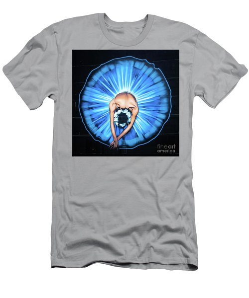 Ballerina Wall Painting, Christchurch, New Zealand Men's T-Shirt (Athletic Fit)