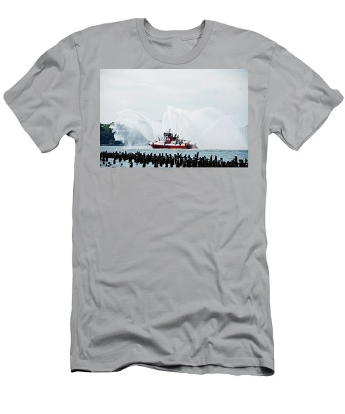 Water Boat Men's T-Shirt (Athletic Fit)