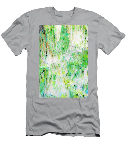 Water Colored  Men's T-Shirt (Athletic Fit)