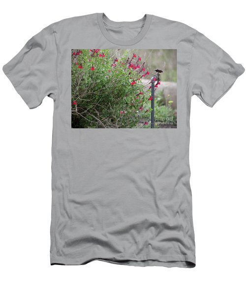 Water In The Garden Men's T-Shirt (Athletic Fit)