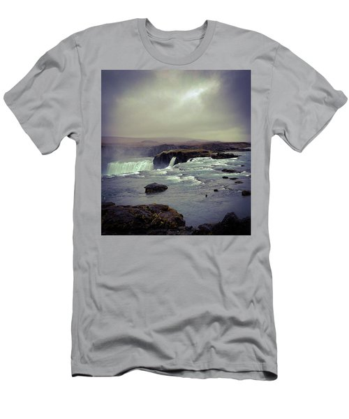 Waterfall Of The Gods Men's T-Shirt (Athletic Fit)