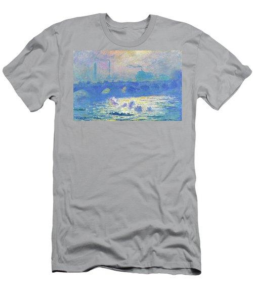 Waterloo Bridge - Digital Remastered Edition Men's T-Shirt (Athletic Fit)