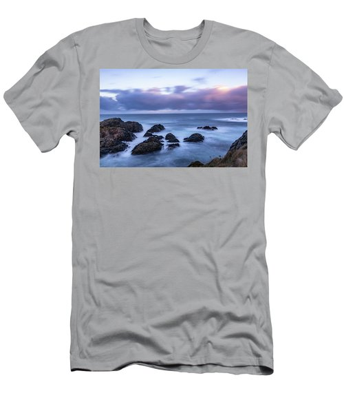 Waves At The Shore In Vesteralen Recreation Area Men's T-Shirt (Athletic Fit)