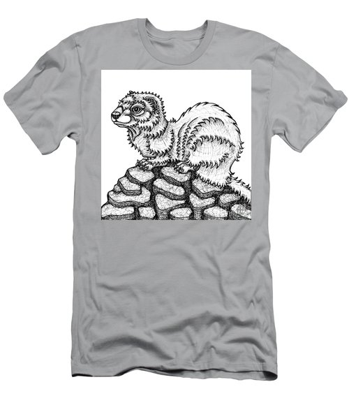 Weasel Men's T-Shirt (Athletic Fit)
