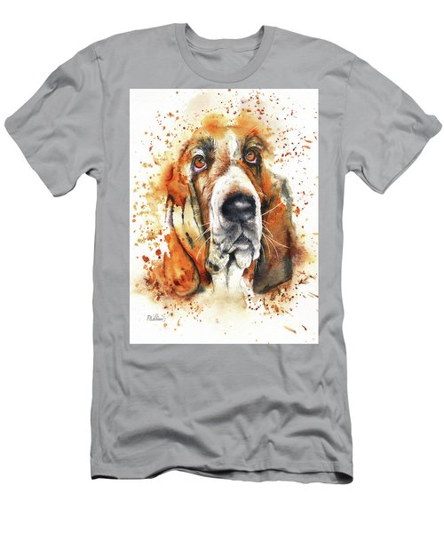 Wet Basset Men's T-Shirt (Athletic Fit)