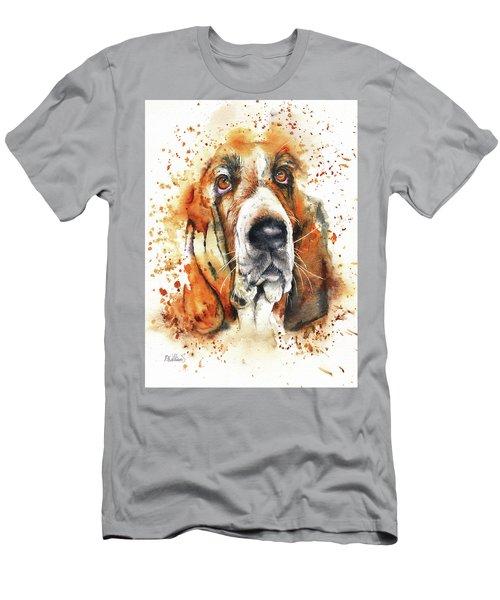 Wet Basset Men's T-Shirt (Athletic Fit)