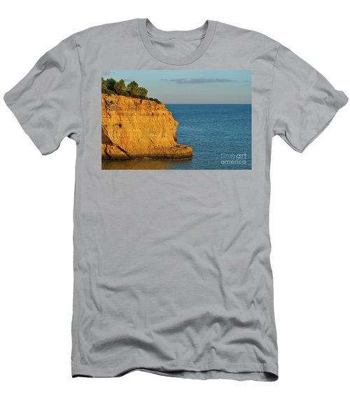 Where Land Ends In Carvoeiro Men's T-Shirt (Athletic Fit)