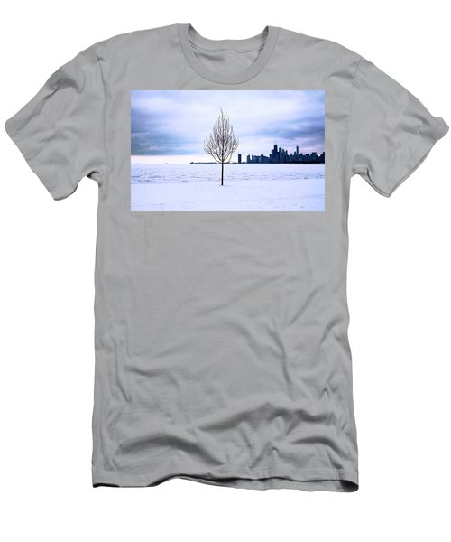 Men's T-Shirt (Athletic Fit) featuring the photograph White Dream by Milena Ilieva