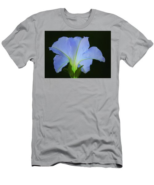 White Petunia Men's T-Shirt (Athletic Fit)