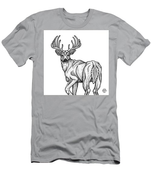White Tailed Buck Men's T-Shirt (Athletic Fit)