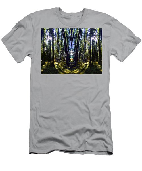 Wild Forest #1 Men's T-Shirt (Athletic Fit)