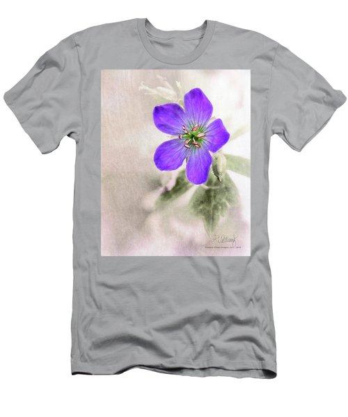 Wild Geranium Men's T-Shirt (Athletic Fit)