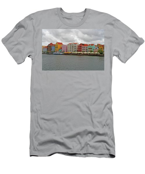 Willemstad, Curacao Men's T-Shirt (Athletic Fit)