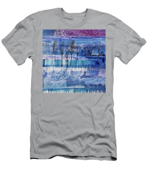Winter Blues 1 Men's T-Shirt (Athletic Fit)
