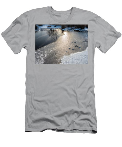 Winter Landscape At Whitesbog Men's T-Shirt (Athletic Fit)