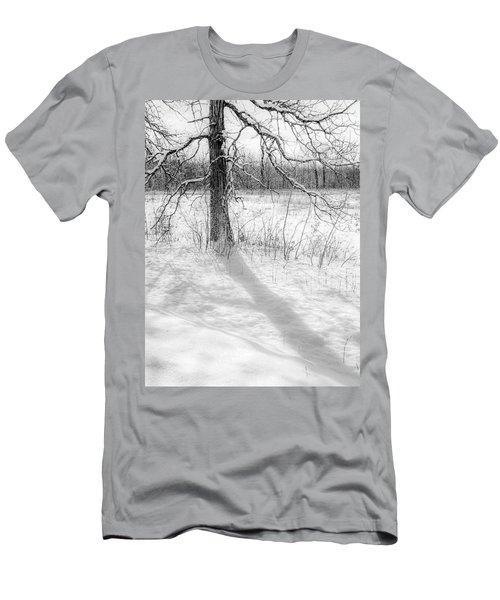 Winter Simple Men's T-Shirt (Athletic Fit)