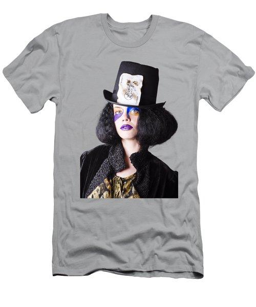 Woman In Joker Costume Men's T-Shirt (Athletic Fit)