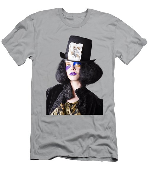 Woman In Joker Costume Men's T-Shirt (Athletic Fit)