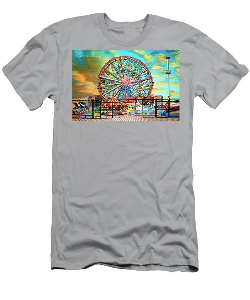 Wonder Wheel Weekender Tote Bag Version Men's T-Shirt (Athletic Fit)