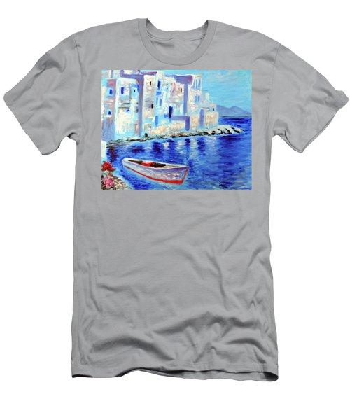 Wondrous Mykonos  Men's T-Shirt (Athletic Fit)