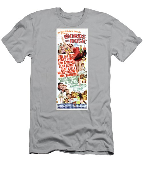 Word And Music 1948 Film Men's T-Shirt (Athletic Fit)