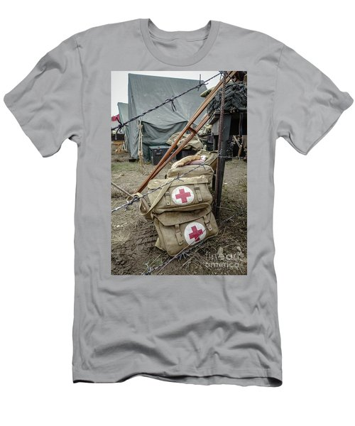 World War II Us Army First Air Camp Men's T-Shirt (Athletic Fit)