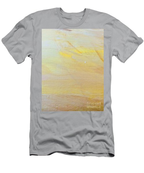 Men's T-Shirt (Athletic Fit) featuring the painting Yellow #2 by Maria Langgle