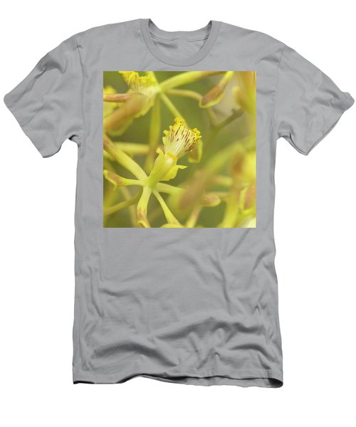 Yellow Orchid Men's T-Shirt (Athletic Fit)